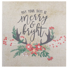 May Your Days Be Merry & Bright Mini Canvas