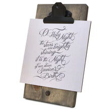 O Holy Night Mini Canvas