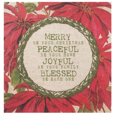 Merry Be Your Christmas Mini Canvas