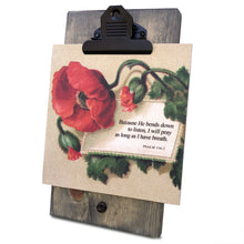 Because He Bends Down To Listen Psalm 116 Mini Canvas