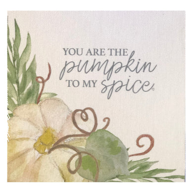 You are the Pumpkin to my Spice Mini Canvas