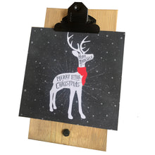 Have Yourself A Merry Little Christmas Reindeer Mini Canvas