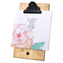Do Small Things With Great Love Mini Canvas