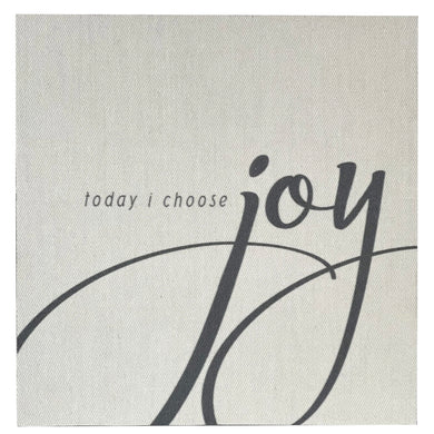 Today I Choose Joy Mini Canvas