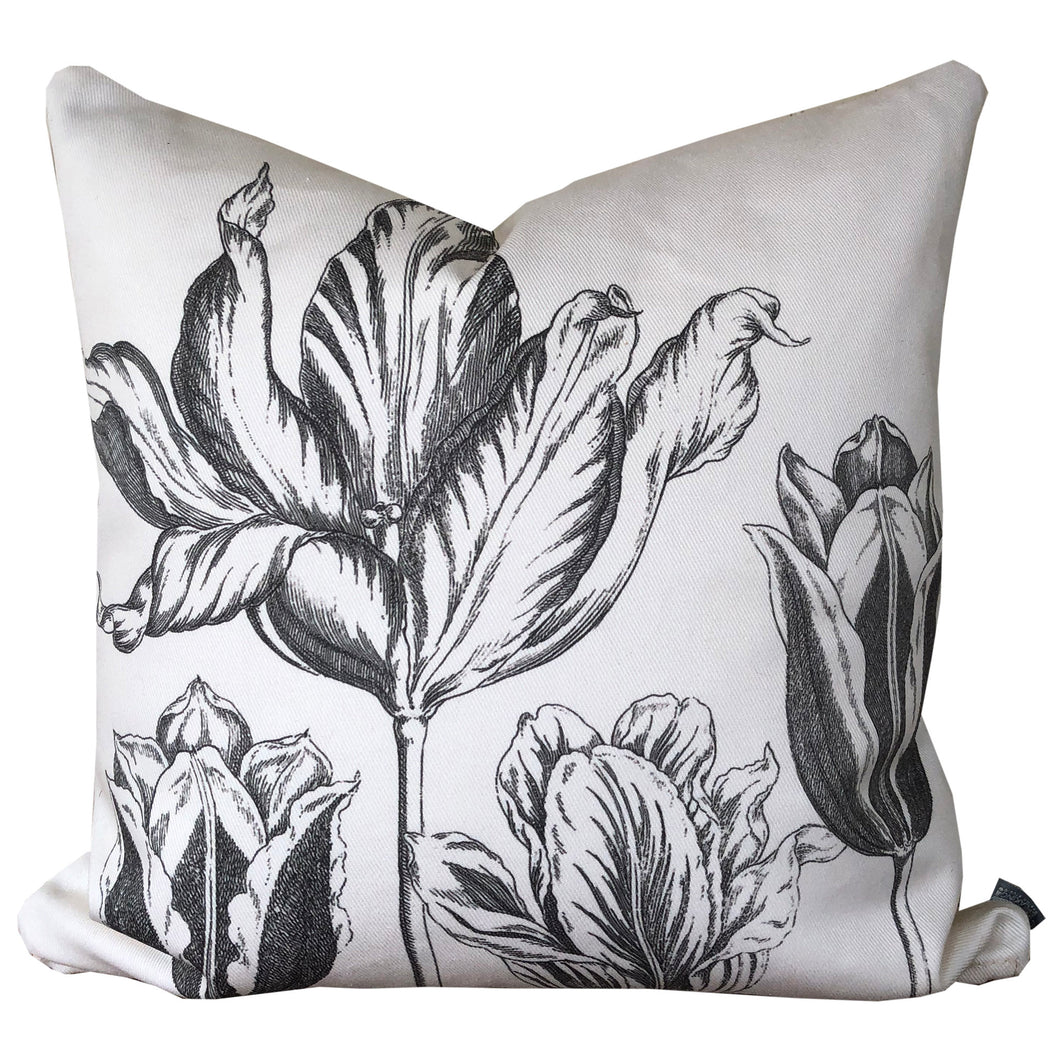 Tulips Floral Pillow