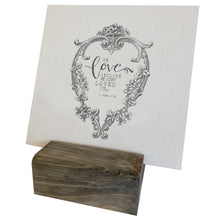 We Love Because He First Loved Us Mini Canvas