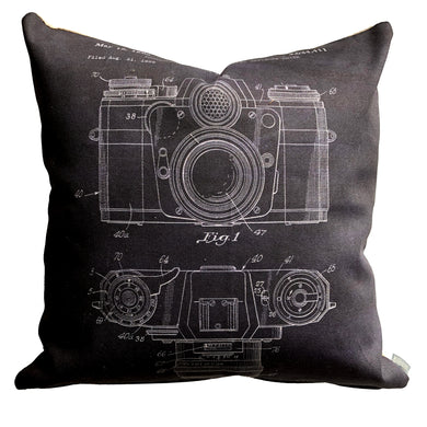 Camera Patent Pillow
