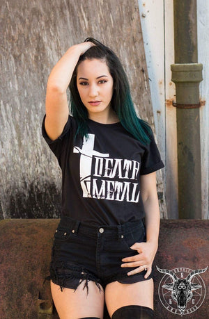 LIMITED EDITION DEATH METAL BLACK UNISEX TEE