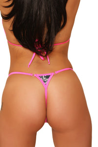 Dancers G String New Digtal Camo Fashion Stripper Clothing
