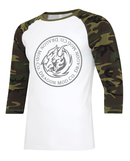 3/4 Sleeve Camo Shirt