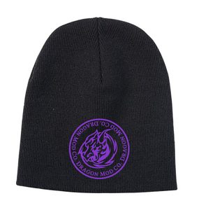 Skull Cap - Purple