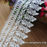 Guipure lace trim/Venise Lace Trim/Bridal Lace Trim/Wedding Dress Lace/Bridal Veil Lace/Off-White Lace Trim/Antique Lace Trim/VL-22-WH