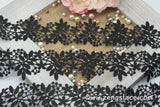 Guipure lace trim with leaves and branches, venise lace trim, wedding lace trim, GL-45