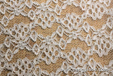 Floral lace fabric/Unique Bridal Lace Top/Raschel lace fabric/Lingerie Lace Fabric/French Lace Fabric/Lace Dress/Lace by the yard/FL-18