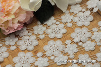 Guipure lace trim/Lace Fabric/Wedding Lace/Vintage Lace/Antique Lace/Lace by the yard, GL-52