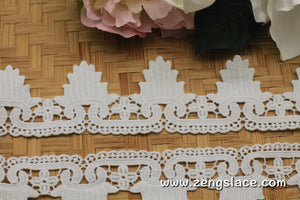 Guipure lace trim/Lace Fabric/Wedding Lace/Vintage Lace/Antique Lace/Lace by the yard, GL-53