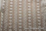 Strip lace fabric/White lace fabric/Lace by the yard/FL-11