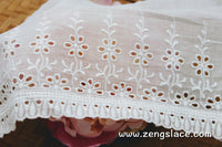 Eyelet Lace Trim/Antique Lace/Vintage Dress Lace/Boho Dress Lace/Vintage Wedding Dress/Lace Dress/Lace Fabric by the yard/EY-19