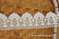 Guipure lace trim/Venise Lace Trim/Bridal Lace Trim/Wedding Dress Lace/Bridal Veil Lace/Off-White Lace Trim/Antique Lace Trim/GL-62-OW