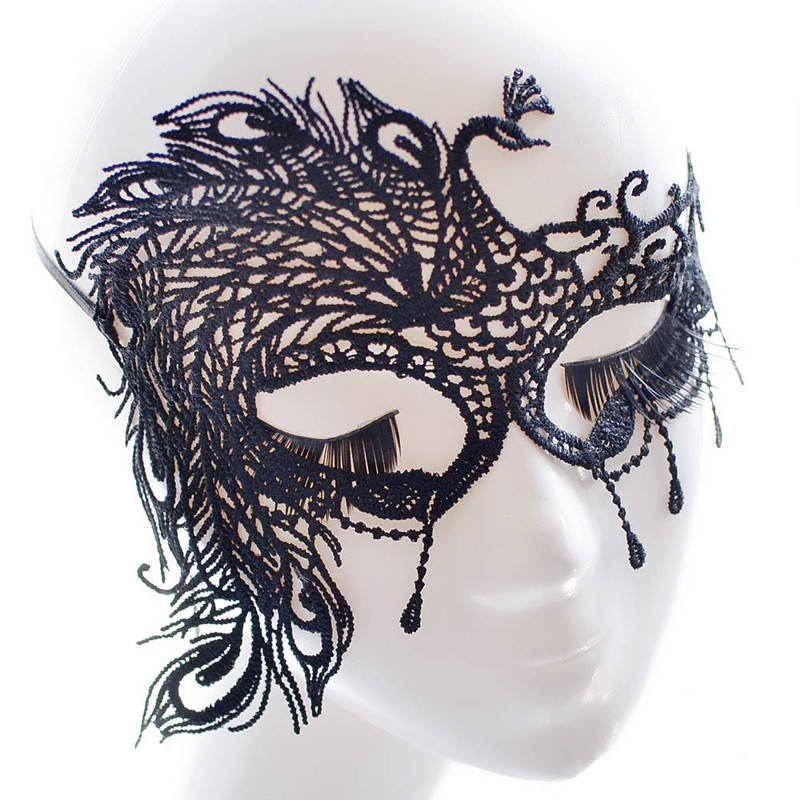 Masquerade Mask/Masks For Masquerade/Venetian Mask/Half Mask/Lace Mask/Masquerade Mask Men/Gift for her/Gift for him/LM-20