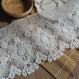 Guipure lace trim/Venise Lace Trim/Bridal Lace Trim/Wedding Dress Lace/Bridal Veil Lace/Off-White Lace Trim/Antique Lace Trim/VL-31