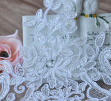 Alencon lace trim/Bridal Lace Jacket/Wedding Lace/Bridal Gowns Lace trim by the yard, AL-63