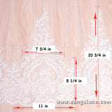 Bridal Lace Trim/Off-White Lace Trim/Off-White Alencon lace trim/Boho Wedding Dress Lace/Lace Wedding Dress/Bridal Veil Lace Trim/AL-21