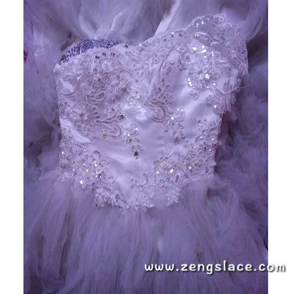 Ivory Alencon lace with floral embroidery/Bridal Lace Jacket Lace ...