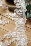 Bridal Lace Trim/Off-White Lace Trim/Off-White Alencon lace trim/Boho Wedding Dress Lace/Lace Wedding Dress/Bridal Veil Lace Trim/AL-50