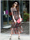 Floral Embroidery Lace Fabric/Prom Dress Lace Fabric/EFL-89