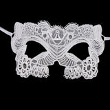 Masquerade Mask/Masks For Masquerade/Venetian Mask/Half Mask/Lace Mask/LM-14-BL