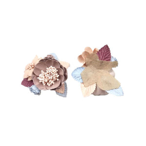 Wedding Corsage Garmet/Cute Patches/3D Flower Applique/Bridal Applique/Show Clips/Shoe Applique/Beaded Applique/Priced for one piece/DL-19