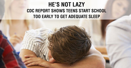 Study: Most Teens Start School Too Early To Get Enough Sleep