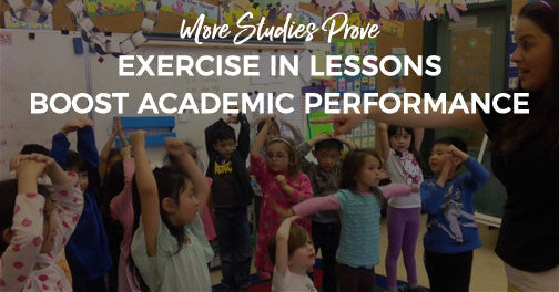 Study: Exercise with Academic Lessons Boost Scores