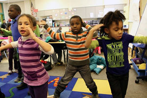 exercise in the classroom improves academic performance