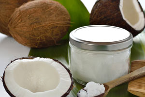 sunburn relief coconut oil