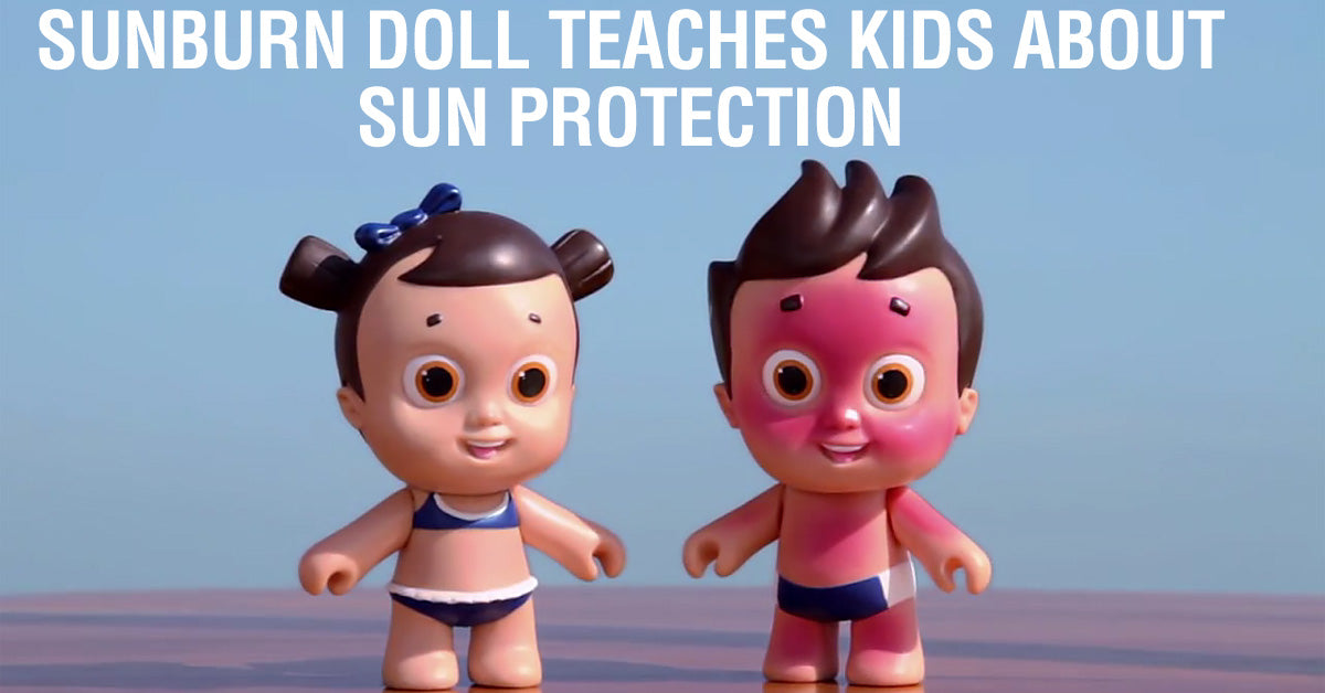 pro sunscreen doll teaches kids sun protection