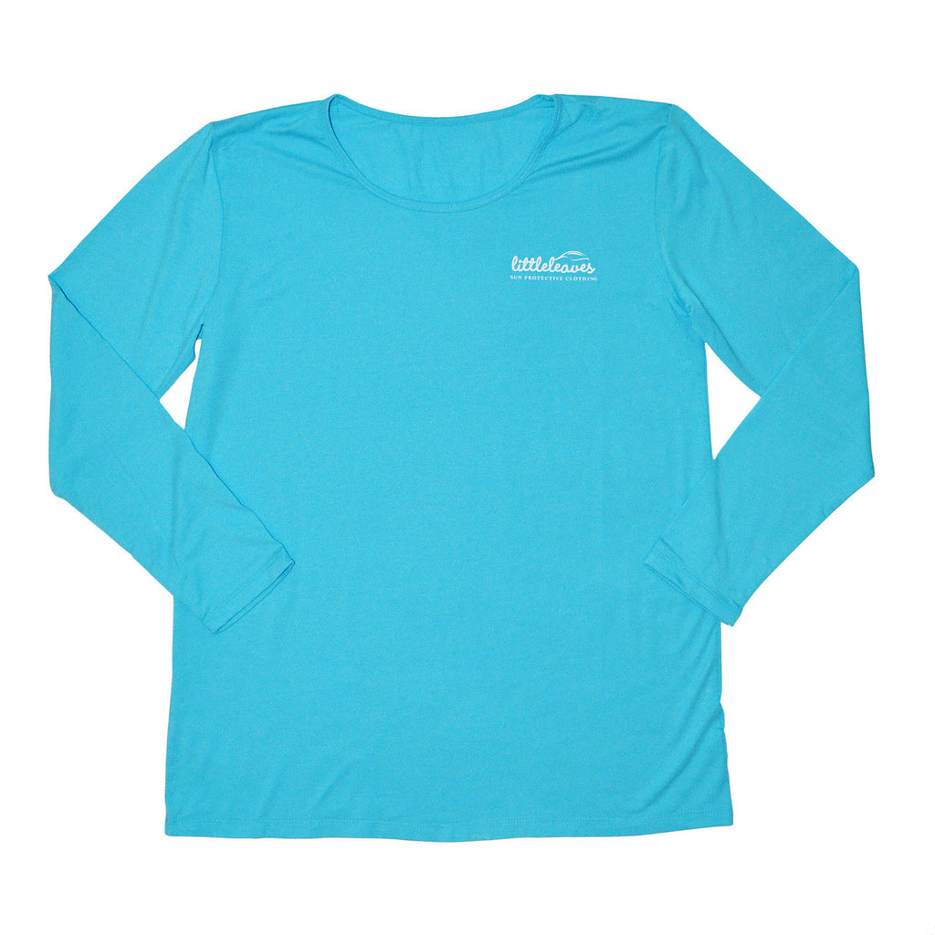 upf clothing women shirt blue