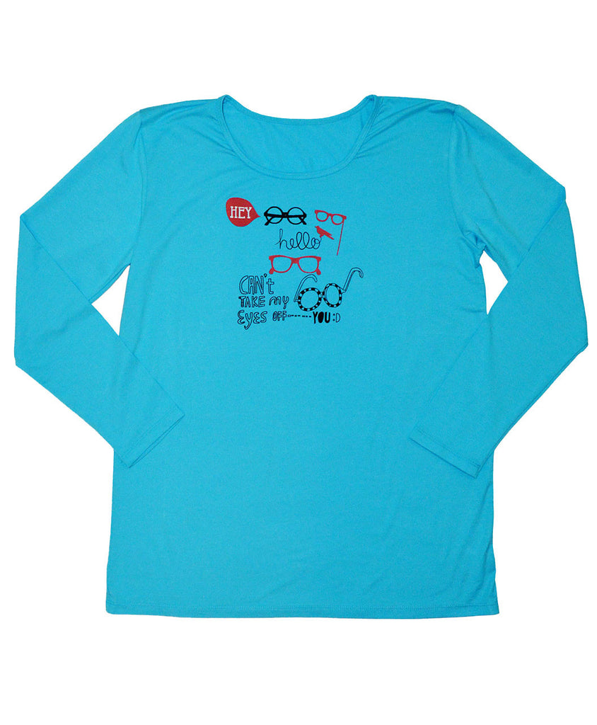 sun protective clothing girls shirt blue