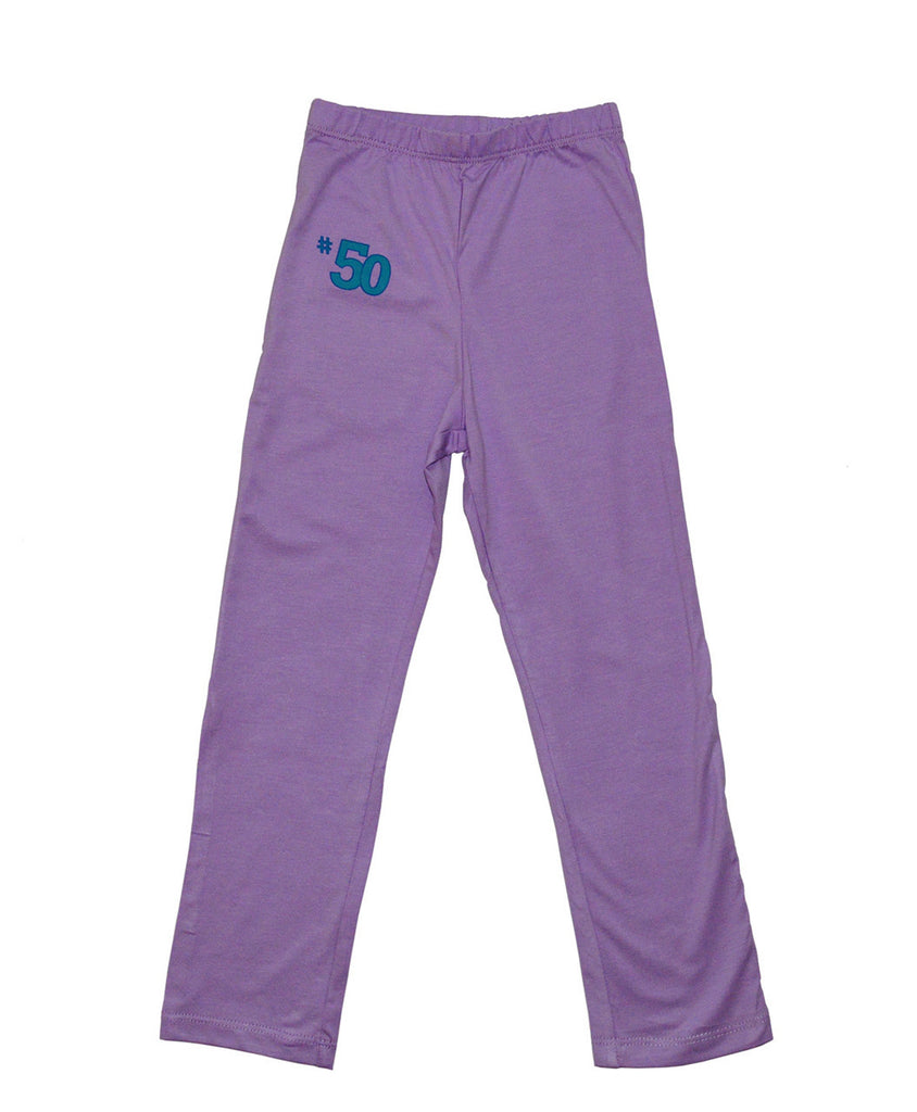 upf clothing pants girls purple