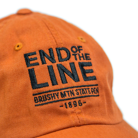 End of the Line Twill Hat Detail