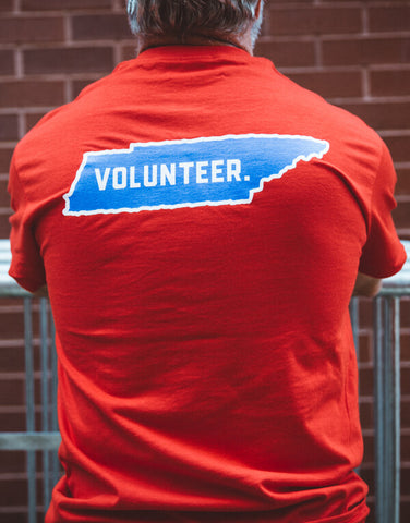Volunteer Tee Back