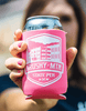 Detail - Pink Koozie with Brushy Mountain State Penitentiary logo