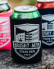 Detail - Koozies with Brushy Mountain State Penitentiary logo
