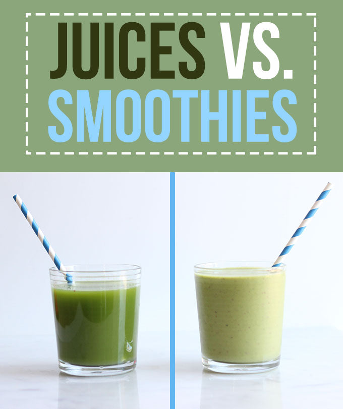 Juices Vs Smoothies from a guy that sells both!