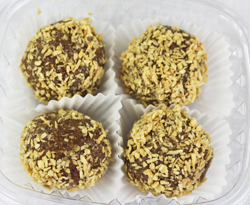 Toasted Coconut Protein Balls