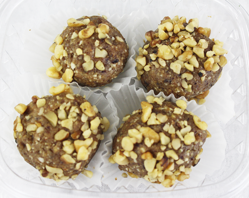 Crushed Walnut Protein Balls