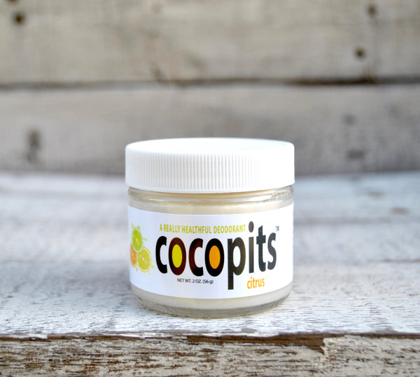 CocoPits All Natural Deodorant | Tubs