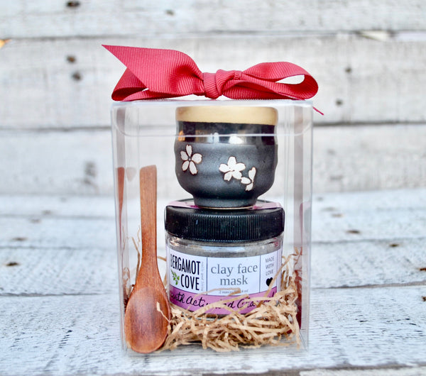 Clay Face Mask Gift Set