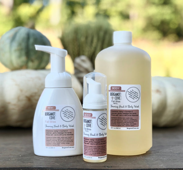 SEASONAL: Foaming Hand Soap | Seasonal | Fall Bliss 8 oz.